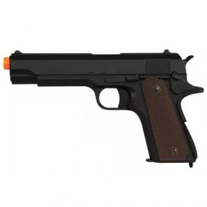AIRSOFT PISTOLA GBB R31 M1911 BLACK FULL METAL BLOWBACK 6MM – QGK