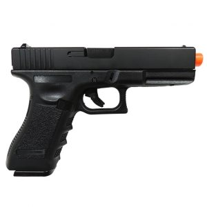 AIRSOFT PISTOLA GBB ARMY ARMAMENT GLOCK R18 BLACK BLOWBACK 6MM