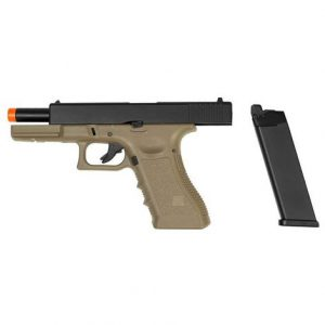 AIRSOFT PISTOLA GBB R17 TAN BLOWBACK 6MM – ARMY ARMAMENT