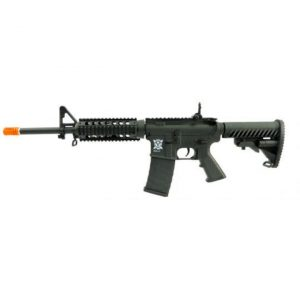 AIRSOFT RIFLE AEG APS M4 RIS KOMPETITOR PR302 BLACK 6MM