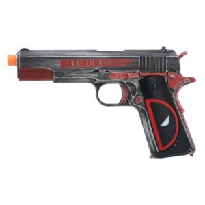 AIRSOFT PISTOLA GBB ARMORER WORKS 1911 DEADPOOL AW-NE2201 6MM