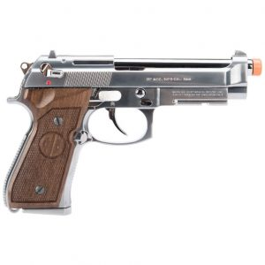 AIRSOFT PISTOLA GBB G&G M92 GPM92 SILVER 6MM