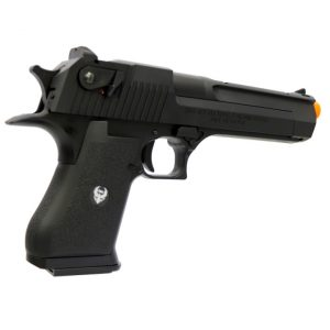 AIRSOFT PISTOLA GBB HFC DESERT EAGLE HG-195B-1 BLACK 6MM