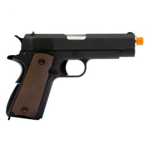 AIRSOFT PISTOLA GBB WE 1911 1943-VER E002 6MM