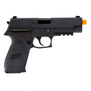 AIRSOFT PISTOLA GBB WE F-SER F226 RAIL BLACK 6MM