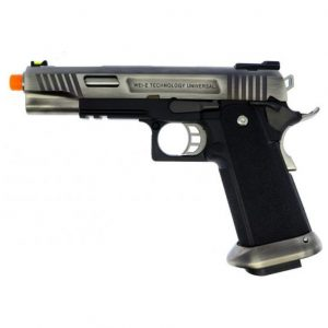 AIRSOFT PISTOLA GBB WE HI-CAPA SER 5.1 T-REX SILVER 6MM