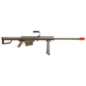AIRSOFT RIFLE SNIPER AEG SNOW WOLF SW-02 TAN 6MM