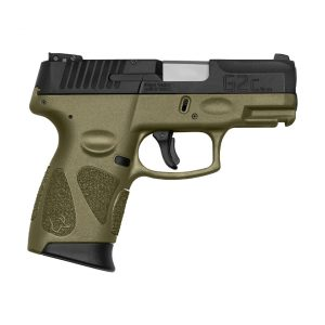 PISTOLA TAURUS G2C 9MM OD GREEN
