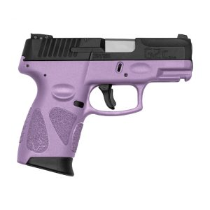 PISTOLA TAURUS G2C 9MM LIGHT PURPLE